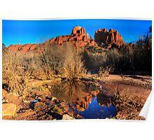 Cathedral Rock Arizona Poster