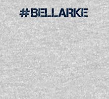 #BELLARKE (Navy Text) Womens Fitted T-Shirt