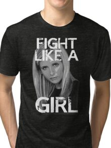 Fight Like A Girl Tri-blend T-Shirt