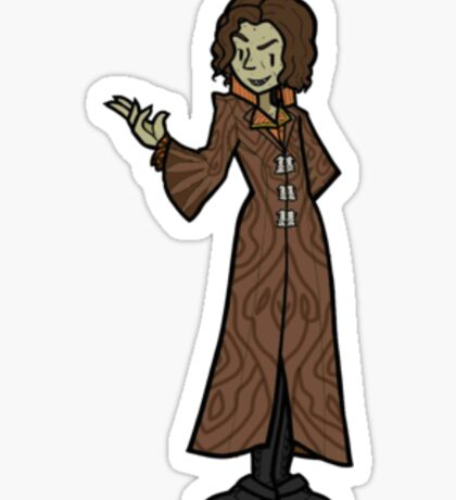Once Upon A Time Rumplestiltskin Snow Falls Sticker