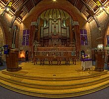 The Altar • St Andrew's Uniting Church • Brisbane by William Bullimore