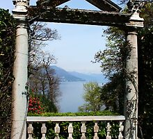 An Arch on Isola Madre. Lago Maggiore, Italy 2011 by Igor Pozdnyakov
