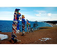 Shamanism Totems in Russia Photographic Print