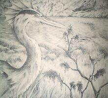 Alien Avian by windsprite17
