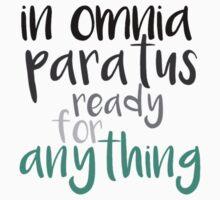 In Omnia Paratus Kids Clothes