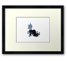 Hades' Pegasus   Framed Print