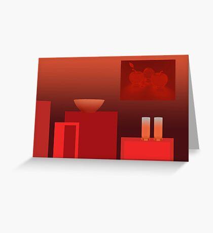 Still life 8 - diffuse light Greeting Card