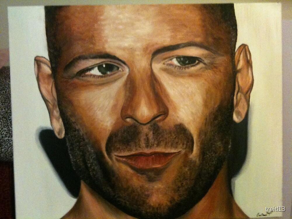 Bruce Willis by treitl13