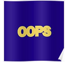 OOPS Poster