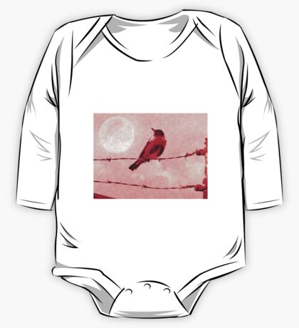 Bird on the Wire One Piece - Long Sleeve
