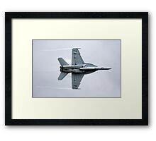 RAAF F/A 18 Super Hornet Framed Print