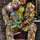 Balloon Street Seller - Blackpool by Victoria limerick