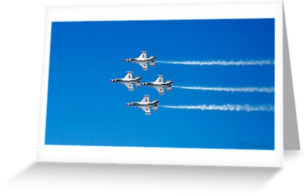 U.S. Air Force Thunderbirds by Alex Preiss