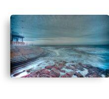 HDR Sea Defences Canvas Print