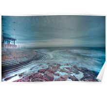 HDR Sea Defences Poster