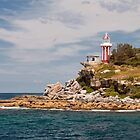 Entrance to Sidney Harbor, Australia by Robert Kelch, M.D.