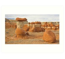 Natural Sculptures Art Print
