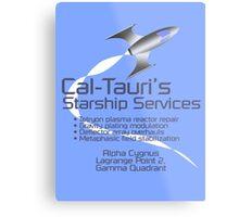 Cal-Tauri's Starship Services Metal Print