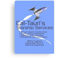 Cal-Tauri's Starship Services Canvas Print