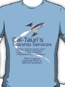 Cal-Tauri's Starship Services T-Shirt
