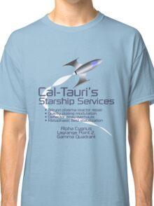 Cal-Tauri's Starship Services Classic T-Shirt