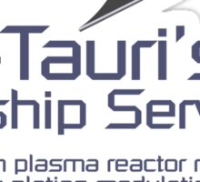 Cal-Tauri's Starship Services Sticker