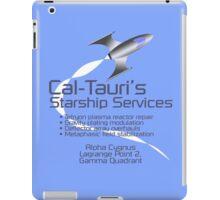Cal-Tauri's Starship Services iPad Case/Skin