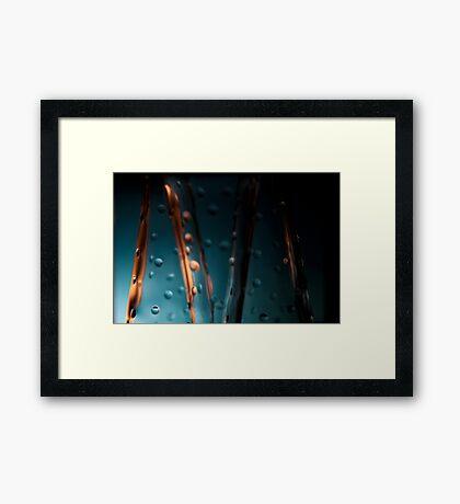 Ode to glass (4) Framed Print