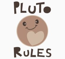 Excuse Me While I Science - Pluto Rules! by AlexNoir