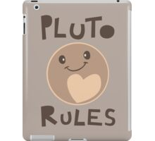 Excuse Me While I Science - Pluto Rules! iPad Case/Skin
