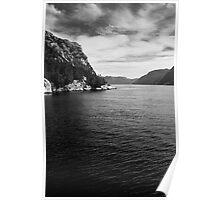 Sailing Through Norway Poster