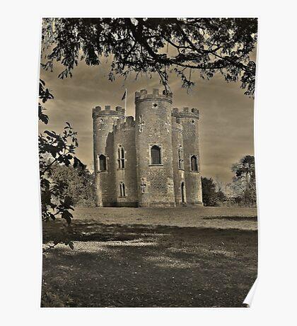 Blaise Castle tower. Poster