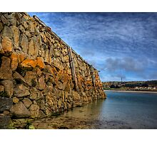 Douglas Quay at Low Tide - Alderney Photographic Print