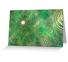 Beneath the Emerald Sea Greeting Card