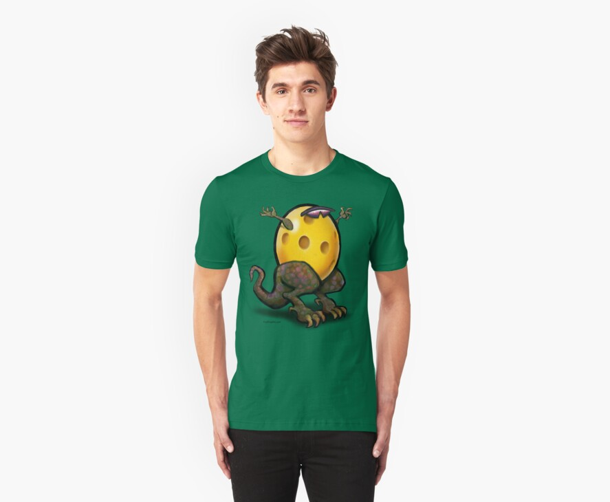 Pickleball Beast Tee by Kevin Middleton