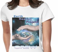 Earth Healing Project Crew Womens Fitted T-Shirt