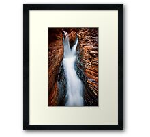 Silk and Stone Framed Print