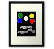 Faga Beefe? Time for some Midnight Madness!  Framed Print