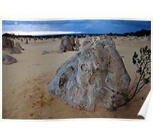pinnacles perspective Poster