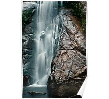 Going down - Feiticeira Waterfall Poster
