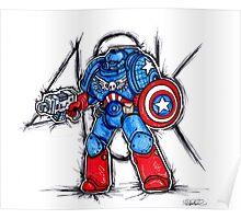 Cap'n Warhammer Poster