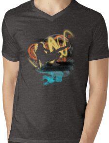Music...ENERGY! Cool! Let's dance! Mens V-Neck T-Shirt