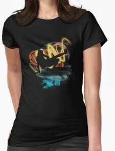 Music...ENERGY! Cool! Let's dance! Womens Fitted T-Shirt