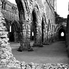 Looking Back (Sweetheart Abbey) by Lynne Bryan Photography