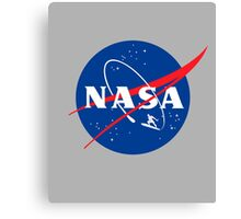 NASA Surfer Canvas Print