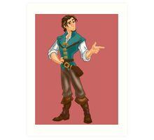 Flynn Rider Art Print