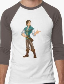 Flynn Rider Men's Baseball ¾ T-Shirt