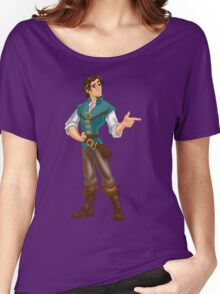 Flynn Rider Women's Relaxed Fit T-Shirt