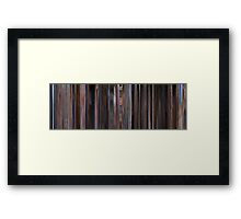 Moviebarcode: The Big Lebowski (1998) Framed Print