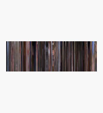 Moviebarcode: The Big Lebowski (1998) Photographic Print